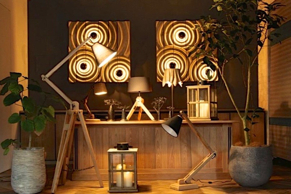 木製ライト