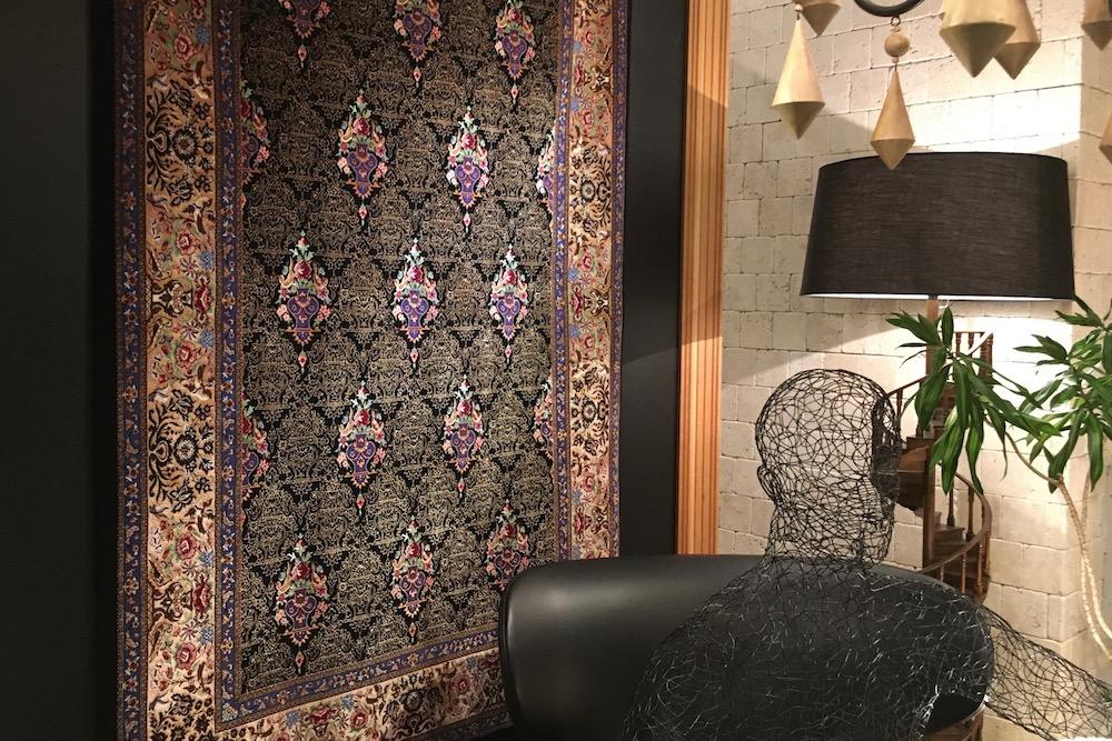 ペルシャ絨毯展
