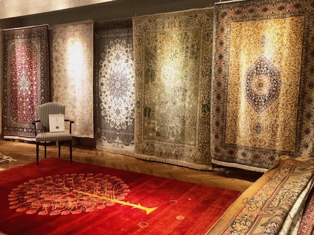 ペルシャ絨毯展in青山